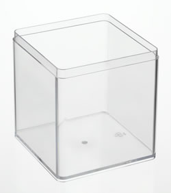 Clear Boxes Square
