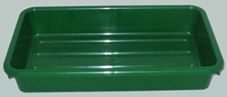 Trays Dark Green
