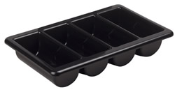 8930005 Compartmented Tray Black
